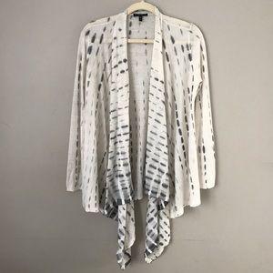 Eileen Fisher | cascading drapery open cardigan